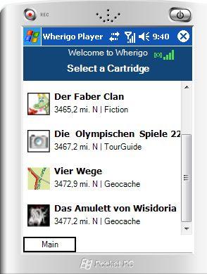 Simulatorverwendung für Kompilate (GWC) – Das Wherigo-Handbuch